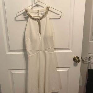 Pearl top dress wore once to wedding rehearsal